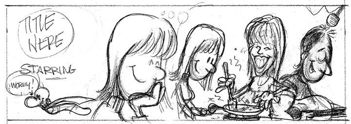 Peter's Sketchbook: Easy Recipe For Cooking Up A Comic